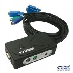 KVM SWITCH VGA USB...
