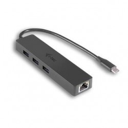 I-TEC USB-C SLIM HUB + GLAN...